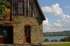Cobblestone barn