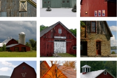 Collage of Barns