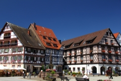 Gengenbach town square