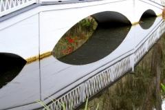 Angled bridge