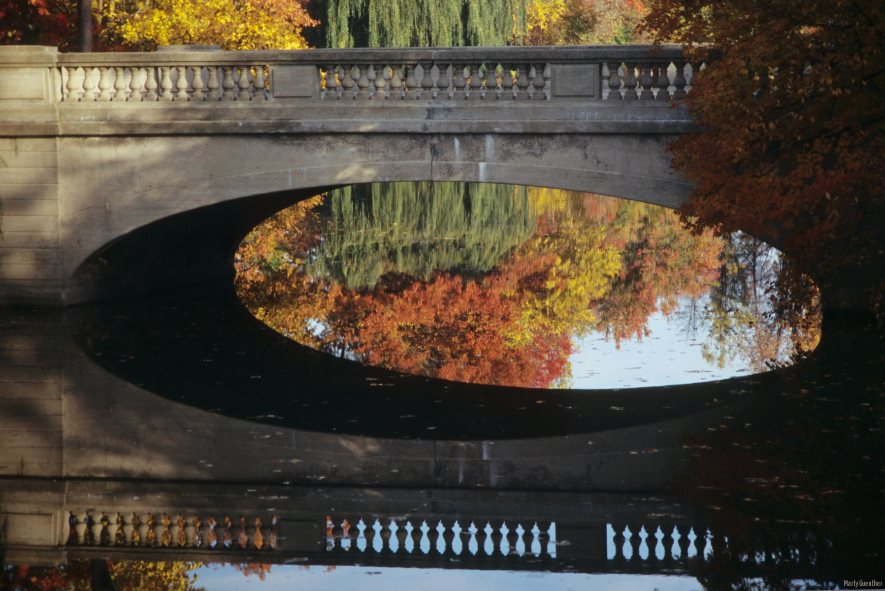 Bridge Reflection in Genesee Valley Park