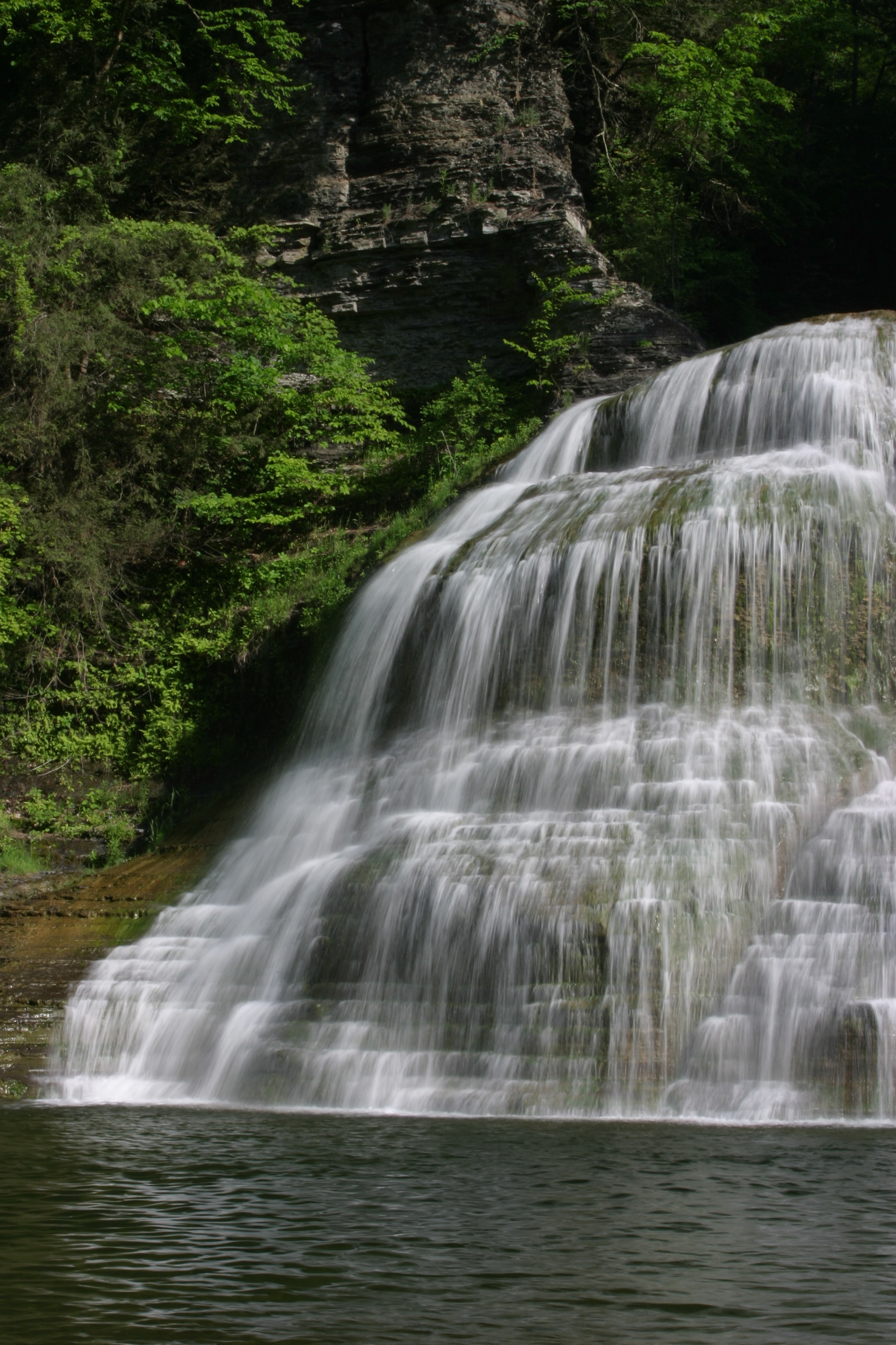 Treman State Park waterfall
