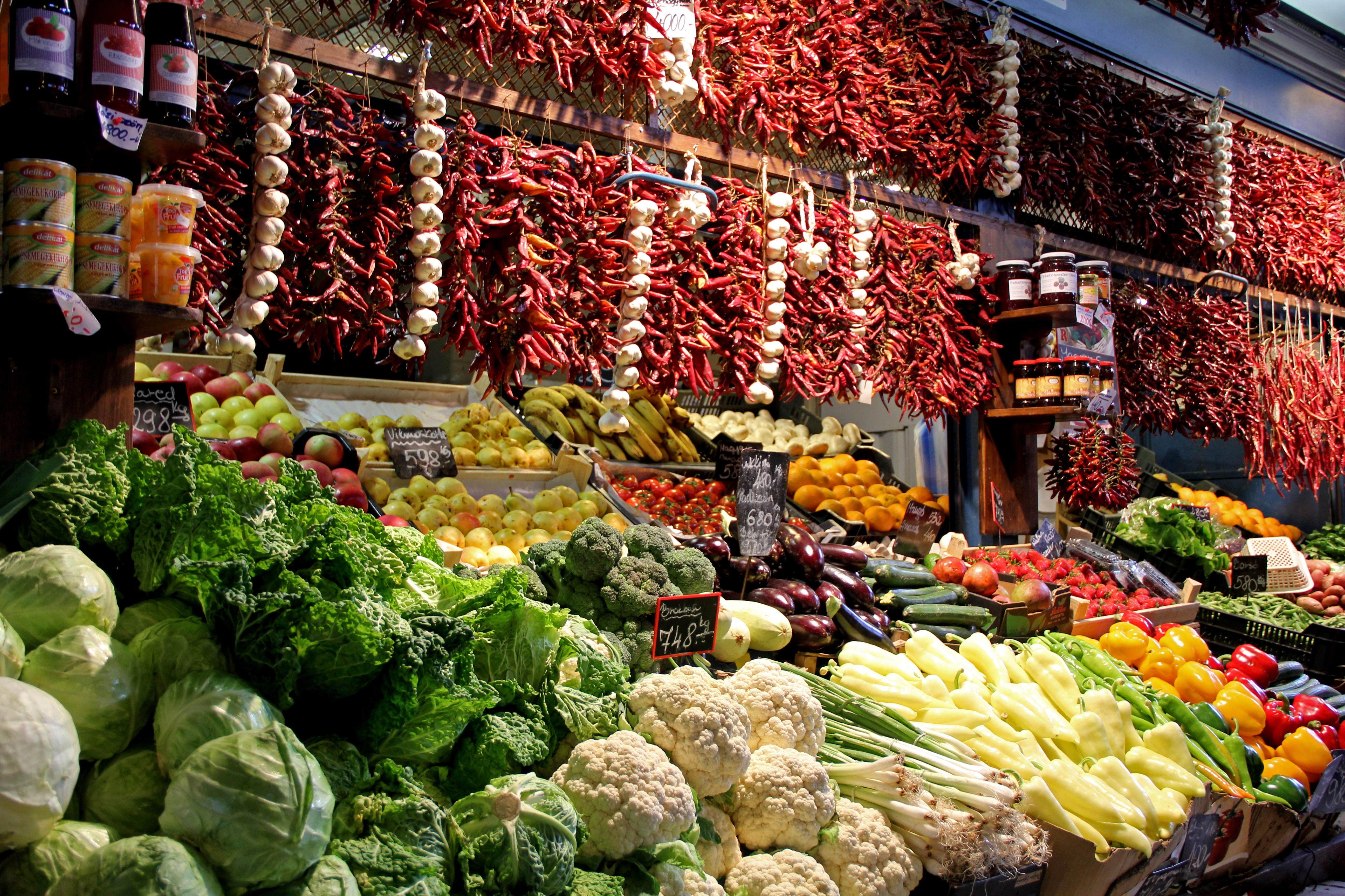 Central Market, Budapest