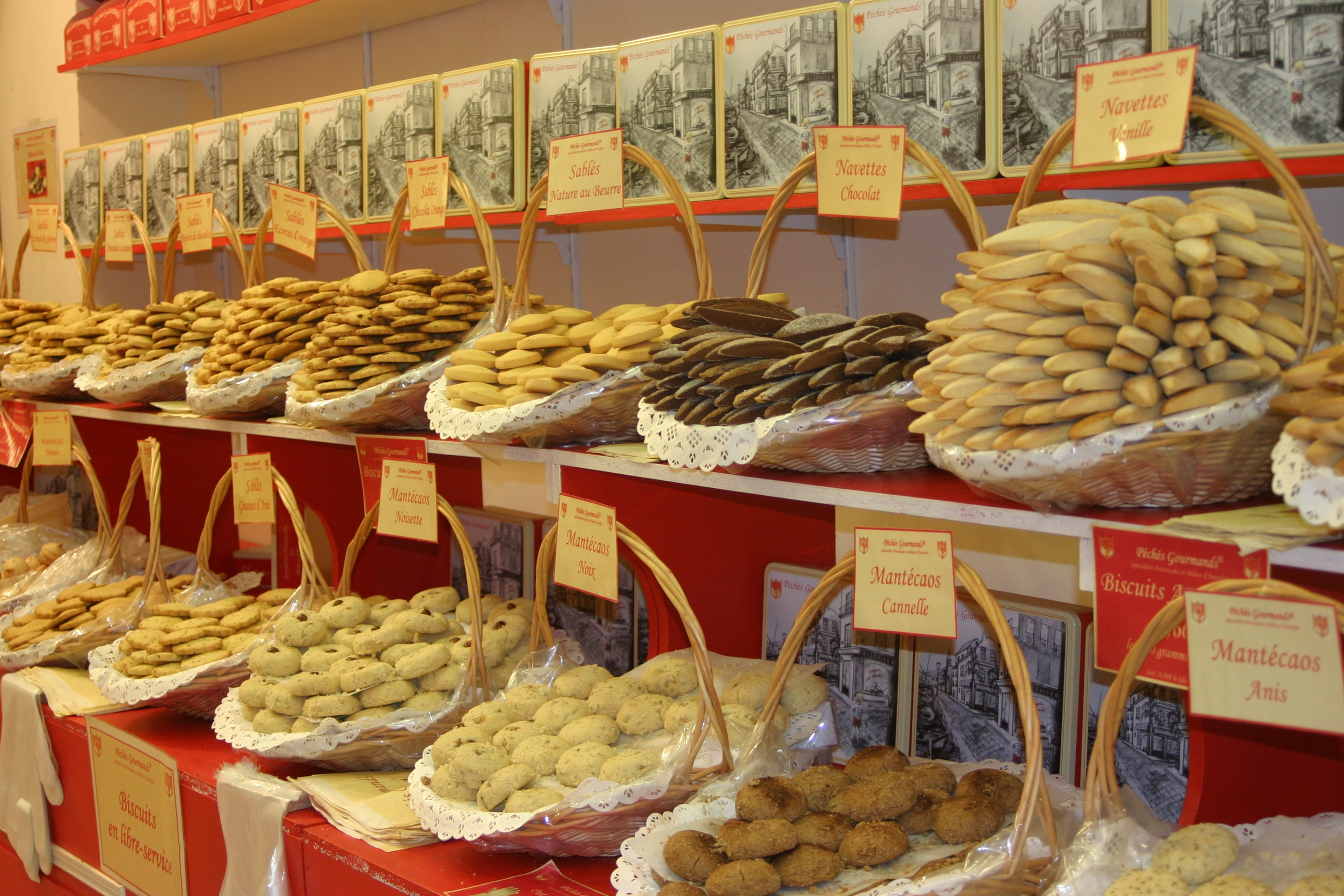 French Cookie Shop