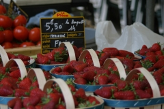 Strawberries at French Market
