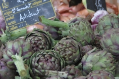 Artichokes at French Market