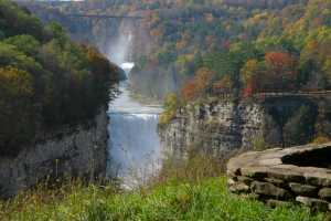 Western New York borders two Great Lakes, boasts of Niagara Falls and the Grand Canyon of the East