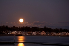 Moonrise on Long Island Sound