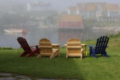 Foggy Morning at Peggy's Cove
