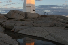 Peggy's Cove Lighthouse at Dawn