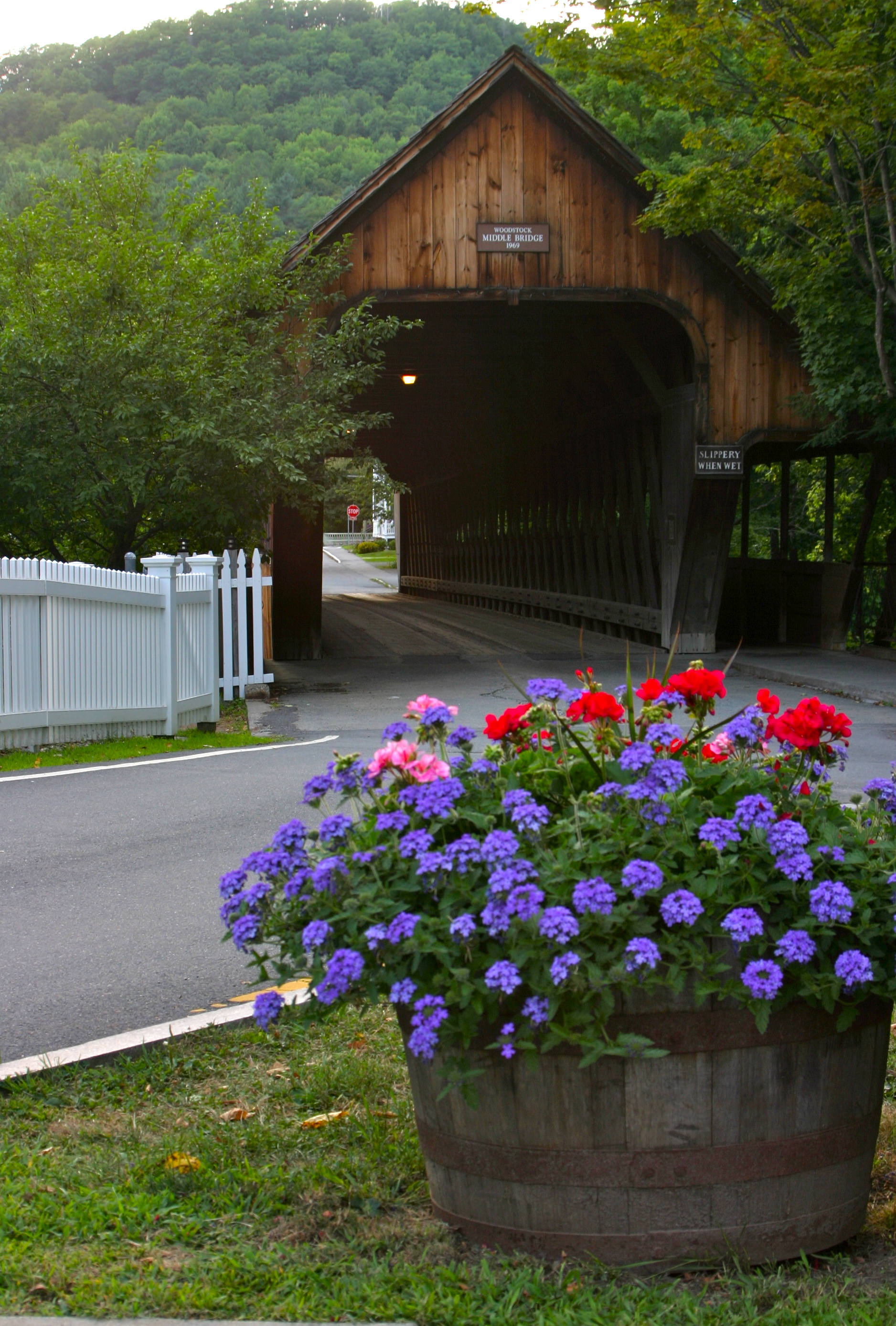 Covered  Bridge in Woodstock Vermont