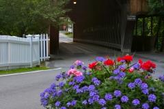 Covered  Bridge in Woodstock Vermont