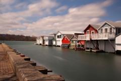 Boathouse Row, Canandaigua Lake, NY