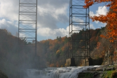 Trestle Bridge at the Lower Falls