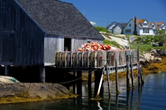 Traps on deck, Peggy's Cove